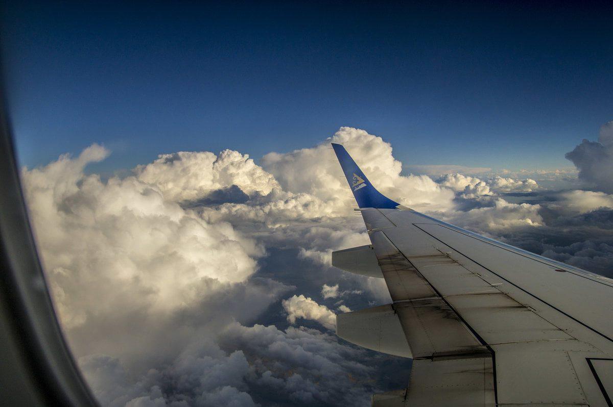 путешествие самолетом